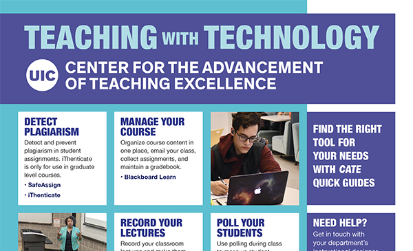 teaching with technology brochure